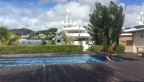 Pool Megayachtblick in Port Louis in St. George auf Grenada