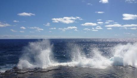 Blowholes auf Tongatapu in Tonga